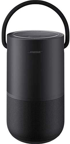 Bose Portable Smart Speaker - avec Contrôle Vocal Alexa Intégré, Noir