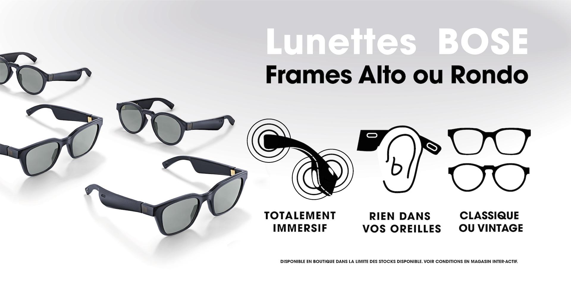lunettes Bose Frames