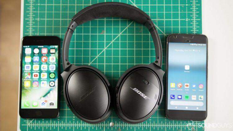 Le casque Bose QC35 II peut fonctionner avec les appareils iOS et Android.