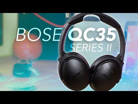 Test Casque sans-fil Bose QuietComfort 35 II