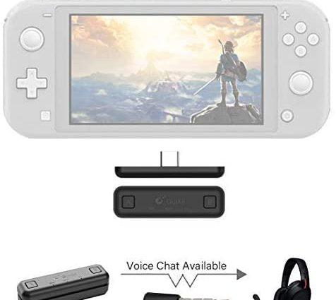 Un adaptateur bluetooth pour la console Nintendo Switch