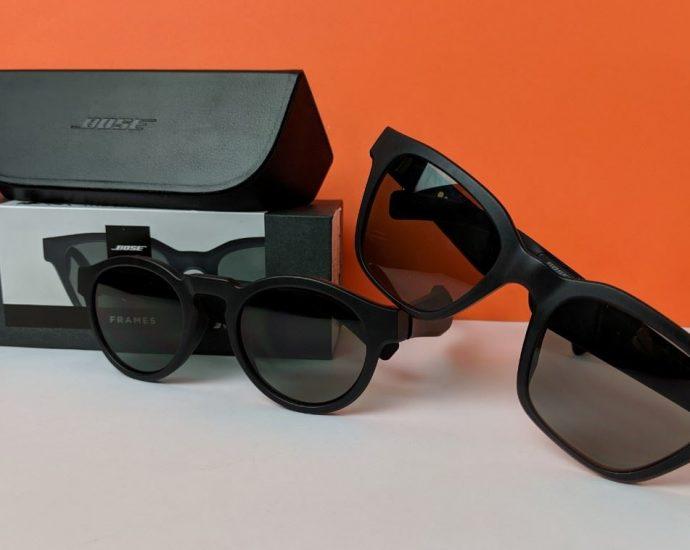 Bose Frames : des lunettes de soleil équipées d'écouteurs bluetooth