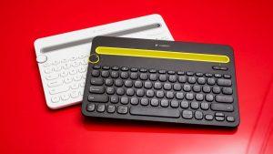 Le clavier K480 de Logitech se connecte à trois appareils sans fil Bluetooth différents à la fois (pratique)