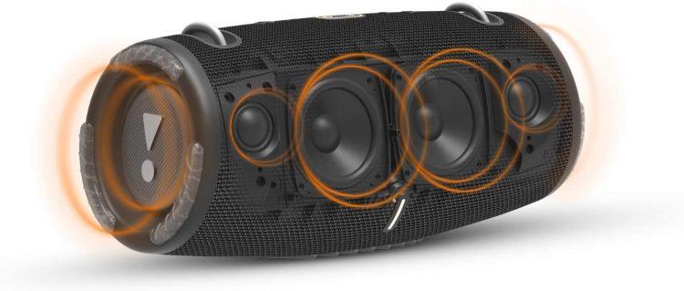 Le Xtreme 3 de JBL est un haut-parleur Bluetooth portable presque parfait