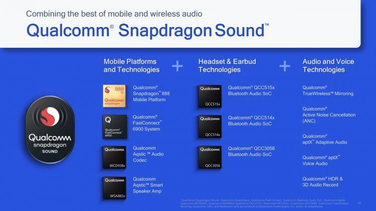 L'audio Bluetooth est sur le point d'obtenir une mise à niveau majeure grâce à la nouvelle technologie sonore Snapdragon