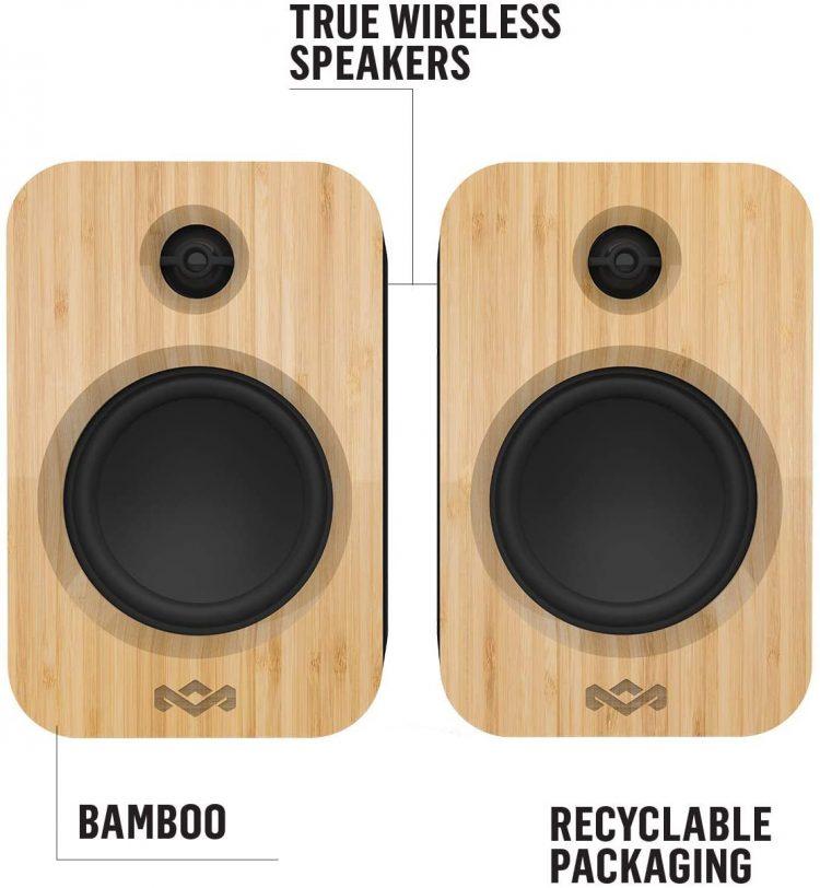 Test des haut-parleurs Bluetooth House of Marley Get Together Duo: stéréo ou mono selon votre choix